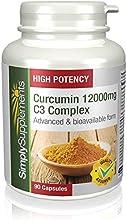 Cúrcuma Complex 12000mg para la salud de las articulaciones Fórmula extra fuerte | 90 Cápsulas