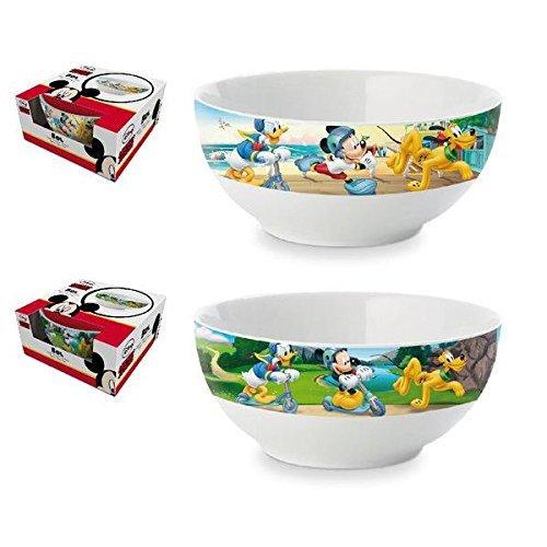 Mickey Mouse–Tazza Bowl ceramica colazione in scatola regalo, 1153601mma102549)