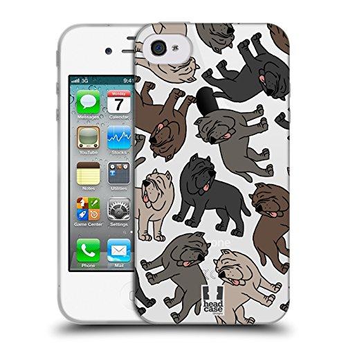Head Case Designs Cocker Spaniel Modelle Hunde Rassen 7 Soft Gel Hülle für Apple iPhone 6 / 6s Neapolitanischer Mastiff