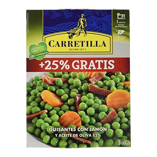 Carretilla Guisantes con Jamón - 300 g