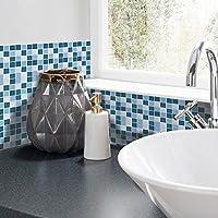 Lieblich LJP Fliesen Aufkleber 3D Gel Mosaik Effekt Für Badezimmer Küchen Wand
