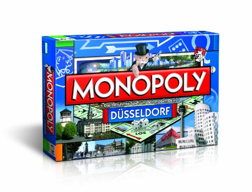 Monopoly Düsseldorfer Edition - Das berühmte Spiel um den großen Deal!