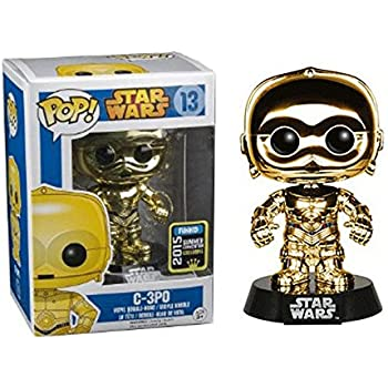 Funko - Pop Collection - Star Wars - C-3PO Gold - 0849803056070