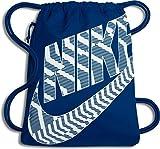 Nike Uni Heritage Turnbeutel, Blue Jay/White, 43 x 33 cm