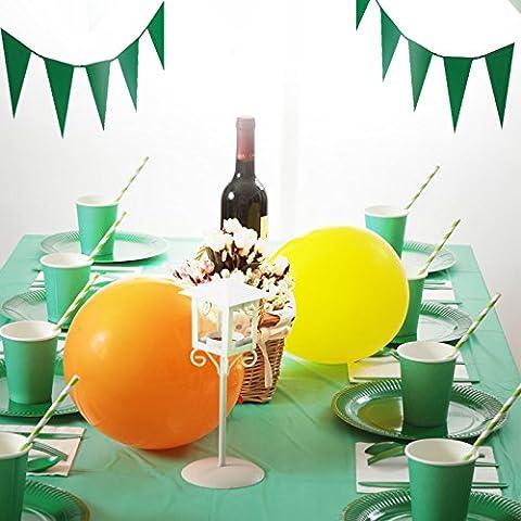 Festa di compleanno di bambini decorate e arredate ad un pacchetto di decor di colore parte alimenta le feste a tema matrimonio ,5