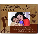 [Sponsored]Presto Personalised Laser Engraving Photo Frame For Your Mother