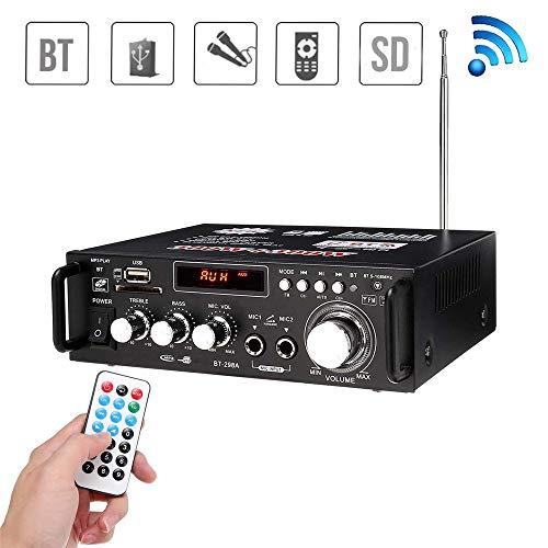 JIASHU Sistema Amplificador Audio hogar Profesional