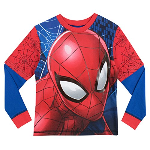 Spiderman Pigiama a maniche lunga per ragazzi Spider-Man Multicolore 4 - 5 Anni