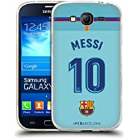 Official FC Barcelona Messi 2017/18 Players Away Kit Group 1 Soft Gel Case for Samsung Galaxy Grand Neo