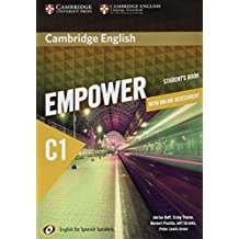 Cambridge English Empower for Spanish Speakers C1 Learning Pack (Student's Book with Online Assessment and Practice and Workbook)  - Pack de 3 libros - 9788490362471