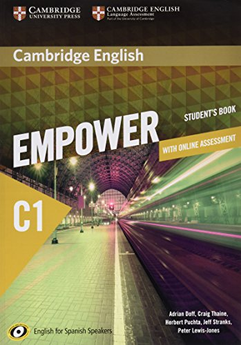 Cambridge English Empower for Spanish Speakers C1 Learning Pack (Student's Book with Online Assessment and Practice and Workbook) por Adrian Doff