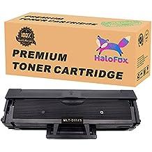 HaloFox 1 Negro Cartuchos de tóner MLT-D111S para Samsung Xpress M2078W M2071W M2071 M2070 M2070F M2070W M2070FH M2070FW M2070HW M2071HW M2071FH SL-M2026W SL-M2026 M2022 M2022W M2020 M2020W M2021W M2021 Impresora