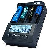Opus BT - C3100 V2.2 Chargeur de batterie LCD intelligent à 4 emplacements pour...