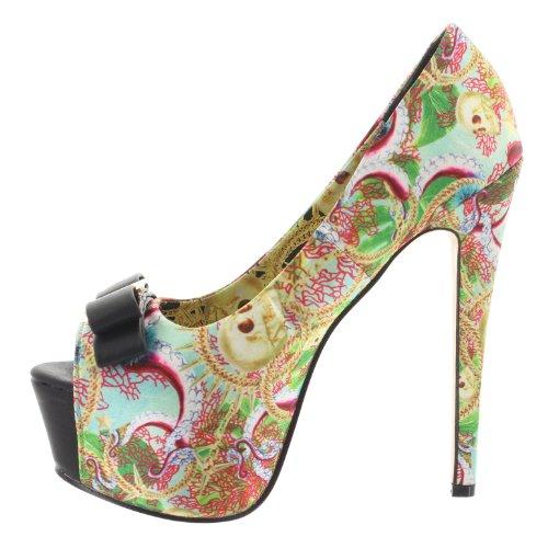 Iron Fist , Escarpins pour femme Multicolore Multicolore - Multicolore
