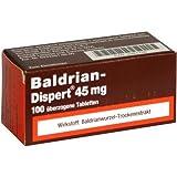 BALDRIAN DISPERT 45MG 100St Überzogene Tabletten PZN:4491756