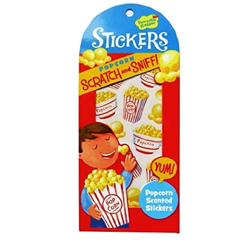 Scratch and Sniff Stickers - Popcorn - Popcorn