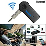 HKFV Drahtlose Bluetooth 3,5 mm AUX Audio Stereo Musik Home Auto Empfänger Adapter MicBT310 Audio-Empfänger 3,5 mm Bluetooth-Adapter Freisprecheinrichtung MP3