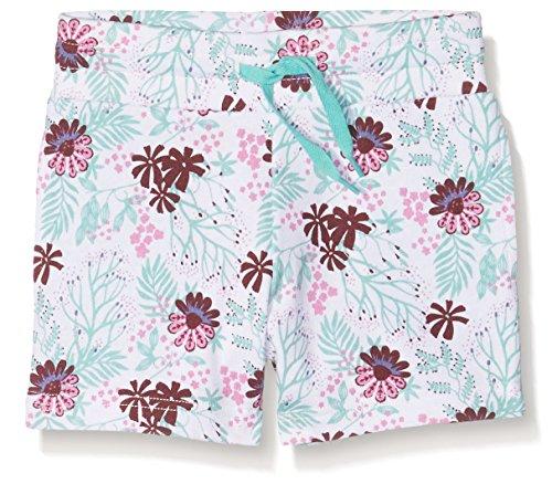 Ben & Lea Mädchen Shorts mit Blumenmuster, Mehrfarbig (Blumen Bunt 099), 122 (Herstellergröße: 122/128) (Kurze Höschen Sport)