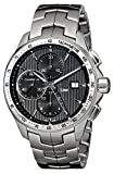 TAG Heuer Men's Link 43mm Steel Bracelet & Case Sapphire Crystal Automatic Black Dial Watch CAT2010.BA0952 Bild