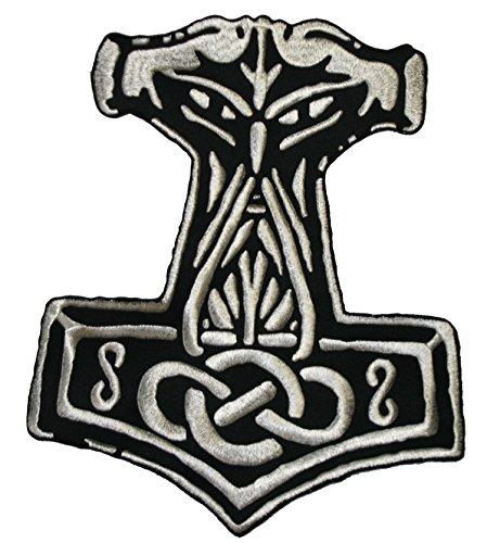 espalda Patch-Martillo de Thor 1