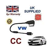 VW CC Serie MMI 3 g, mit integrierter Audio-Kabel für Apple iPhone 5/5s/5c, 6, 6, Plus von cablesnthings
