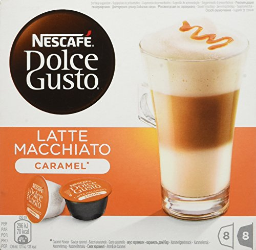 NesCafé Dolce Gusto LATTE MACCHIATO CARAMEL - 16 Capsules - 168,8g