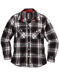 "Surplus Raw Vintage Holzfäller Hemd ""Ladies Lumberjack Shirt"", Größe: L, Farbe: Schwarz"