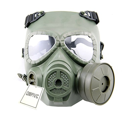 Scarves Anti-fog Airsoft Tactical Hunting Paintball Cs War Game Safety Masks Ventilate Full Face Electric Fan Gas Mask With Goggle To Ensure Smooth Transmission Back To Search Resultssports & Entertainment