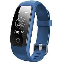Willful Orologio Fitness Donna Uomo Fitness Tracker Smartband Cardiofrequenzimetro da Polso Contapassi Bluetooth…