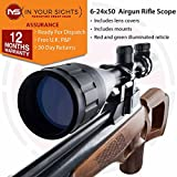 Best Rifle Scopes - In Your Sights Air Gun 6-24x50AO Rifle Scope/Adjustable Review