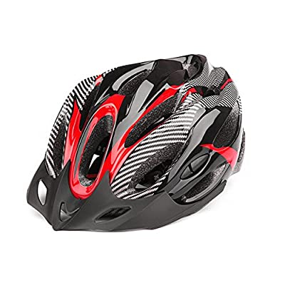 Men Women Safety Cycling Helmet MTB Bike Lightweight Anti-impact Helmet Hollow-out Breathable Adjustable by HOMYY