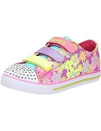 Skechers Chit ChatGlint & Gleam - zapatilla deportiva de lona niña