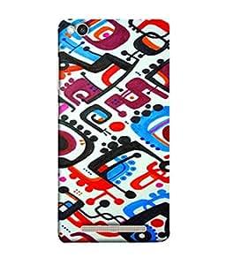 Fuson Designer Back Case Cover for Xiaomi Redmi 3s (Colourful Random Designs Box Squares)