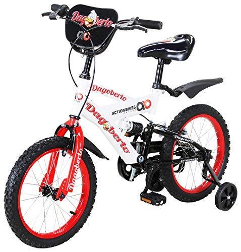 Actionbikes Motors Kinderfahrrad Dagoberto - Verschiedene Größen - Luftbereifung - Ab 2-9 Jahren - Mädchen & Jungen
