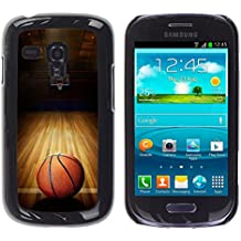 Graphic4You Baloncesto deportes rosquilla Carcasa Funda Rigida para Samsung Galaxy S3 Mini