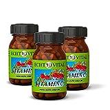 ECHT VITAL Vitamin C Kapseln | 100% Acerola Kirsche Extrakt | Vergleichssieger 1,3* | hochdosiert und natürlich | 180 Vit C Kapseln | keine Zusätze | veganes Superfood | Laborgeprüft | Markenqualität