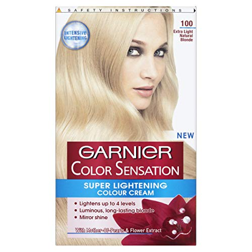 Garnier Color Sensation Super Lightening Colour Cream 100 Extra Light Natural Blonde - Extra Light Natural Blonde