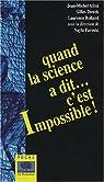 Quand la science a dit... c'est impossible ! par Farouki