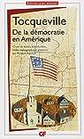 De la démocratie en Amérique par Tocqueville