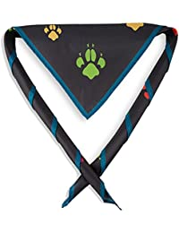 Cubs Scout Paw Print Youth Fun Scarf/Necker - Official Scouting Product.