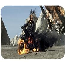 Ghost Rider Spirit of Vengeance Persönlichkeit Designs Gaming Maus Pad, Oberfläche der Polyester verhindern Verformung [natur Gummi, Präzision Stoff] £ ¨ 25x 20,1cm £ ©