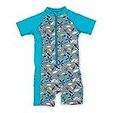 Sterntaler Kinder Jungen Schwimmanzug mit Windeleinsatz, UV-Schutz 50+