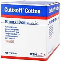 CUTISOFT Cotton Kompr.10x10 cm 8fach 125 St Kompressen preisvergleich bei billige-tabletten.eu