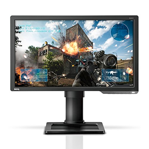 BenQ ZOWIE XL2411 24 Inch 144Hz e-Sports Gaming Monitor with 1ms, Black eQualizer, Dark Grey