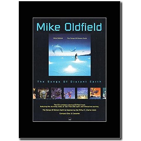 Oldfield-Mike The Songs Of Distant Earth...The Album Magazine Promo su un supporto, colore: nero