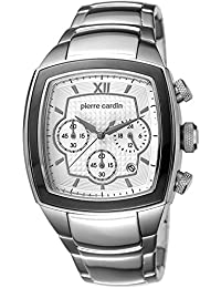 Pierre Cardin Herren-Armbanduhr Général Chronograph Quarz Edelstahl Swiss Made