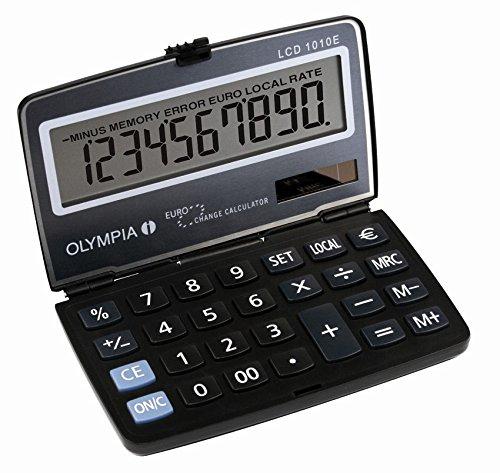 Olympia Taschenrechner LCD - 1010E, blau