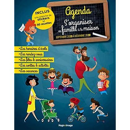Agenda S'organiser en famille à la maison de Septembre 2019 à Décembre 2020