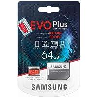 SAMSUNG Evo Plus 2020 Memoria Flash da 64 GB MicroSDXC Classe 10 UHS-I