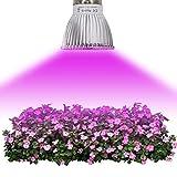 Sulida LED Pflanzenlamp Anlage 18W 28W Volles Spektrum E27 LED Wachsen Lampen-Gartenbau-wachsendes Licht